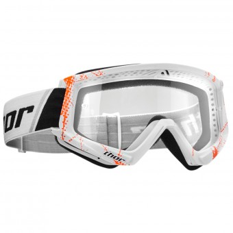 Masque Cross Thor Combat Web Orange White