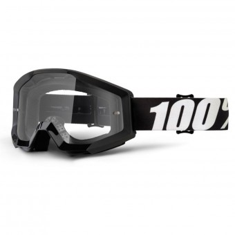 Masque Cross 100% Strata Outlaw Clear lens