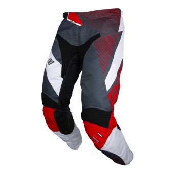 Pantalon Cross SHOT Aerolite Optica Grey Red Pant