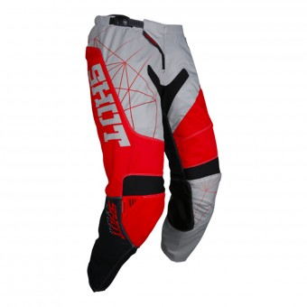 Pantalon Cross SHOT Contact Infinite Grey Red Pant