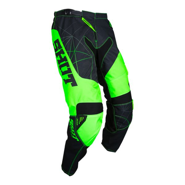 Pantalon Cross SHOT Contact Infinite Neon Green Pant