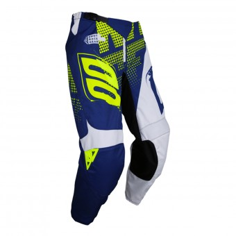Pantalon Cross SHOT Devo Venom Blue Neon Yellow Pant Enfant