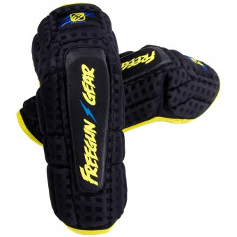 Coudieres Cross Freegun Elbow Protection Black Enfant
