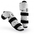 Genouilleres Cross Acerbis Profile Knee Guard White