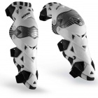 Genouilleres Cross Acerbis Evo Knee Guard White