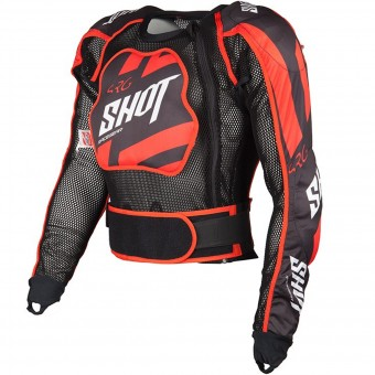 Gilet Cross SHOT Airlight Memory Black Red