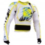 Gilet Cross Freegun Airlight White Yellow