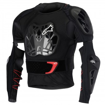 Gilet Cross Alpinestars Bionic Jacket Black Red Enfant