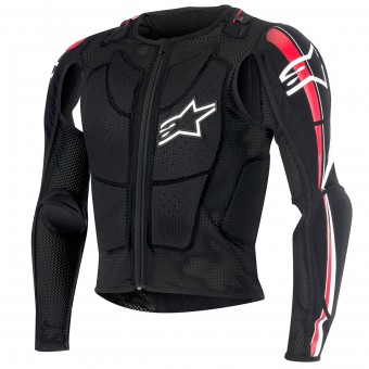 Gilet Cross Alpinestars Bionic Plus Black Red