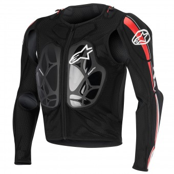 Gilet Cross Alpinestars Bionic Pro Black Red