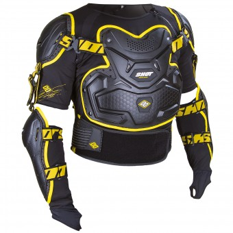Gilet Cross SHOT Interceptor Black Yellow