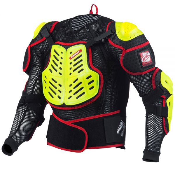 Gilet Cross Kenny Performance Neon Yellow Red Enfant