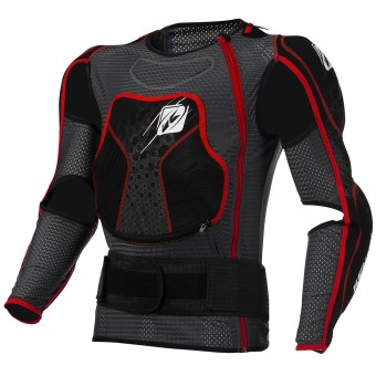 Gilet Cross Kenny Titanium Black Red