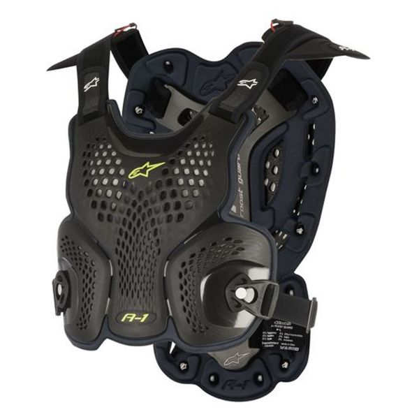 Pare pierre Alpinestars A-1 Roost Guard Black Anthracite