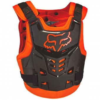 Pare pierre FOX Raptor Proframe LC CE Orange Enfant 009