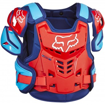 Pare pierre FOX Raptor Vest Blue Red 149