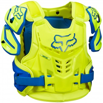 Pare pierre FOX Raptor Vest Blue Yellow 026