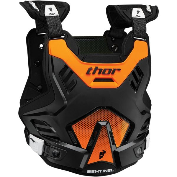 Pare pierre Thor Sentinel GP CE Black Orange Enfant