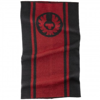Foulard et tour de cou Belstaff Logo Neck Warmer Black Red