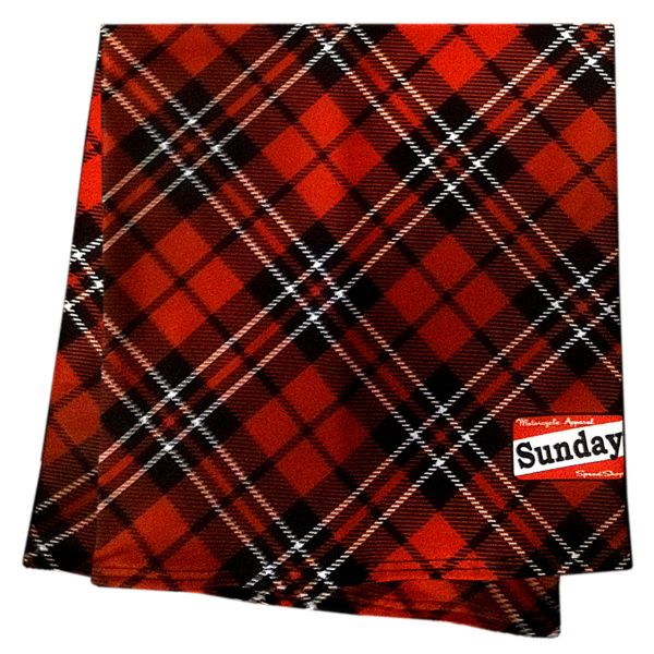 Foulard et tour de cou Sunday SpeedShop Tartan
