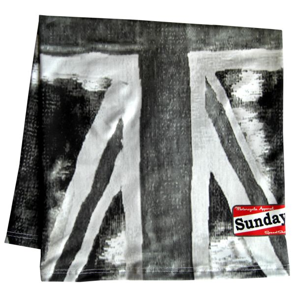 Foulard et tour de cou Sunday SpeedShop Union Black