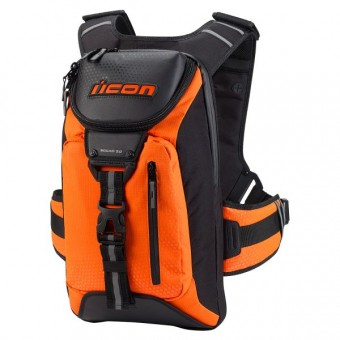 Sac a dos Moto ICON Squad 3 Mil-Spec Orange
