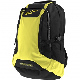 Sac a dos Moto Alpinestars Charger Backpack Black Yellow Fluo