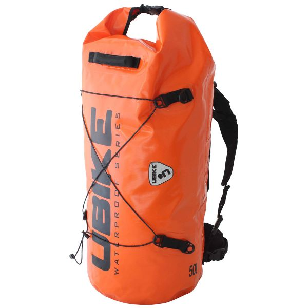 Sac a dos Moto UBIKE Cylinder Bag 30 L Orange