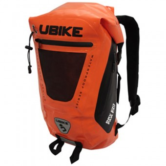 Sac a dos Moto UBIKE Easy Pack + 20L Orange