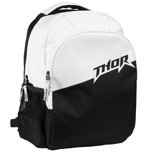 Sac a dos Moto Thor Slam Back Pack Black White