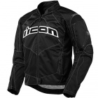 Blouson Moto ICON Contra Black