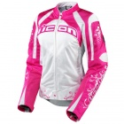 Blouson Moto ICON Contra Speed Queen Pink