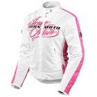 Blouson Moto ICON Hella Street Angel White