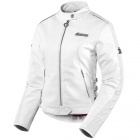 Blouson Moto ICON Hella Leather Jacket White