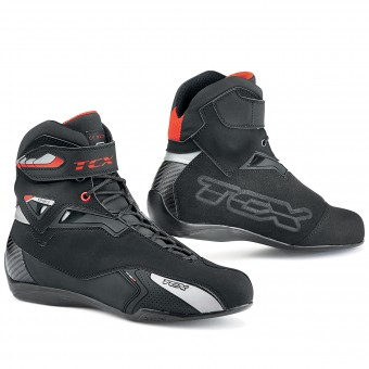 Baskets Moto TCX Rush Waterproof Black