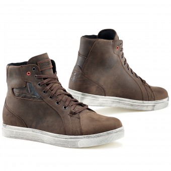 Baskets Moto TCX Street Ace Waterproof Dakar Brown