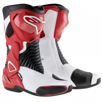 Bottes Moto Alpinestars SMX 6 Black Red White