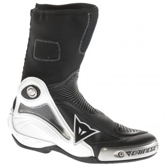 Bottes Moto Dainese Axial Pro In White Black