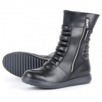 Bottes Moto V'Quattro Lea Waterproof Black