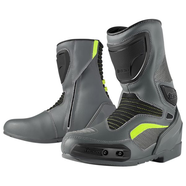 Bottes Moto ICON Overlord Boot Grey