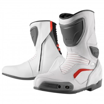 Bottes Moto ICON Overlord Boot White