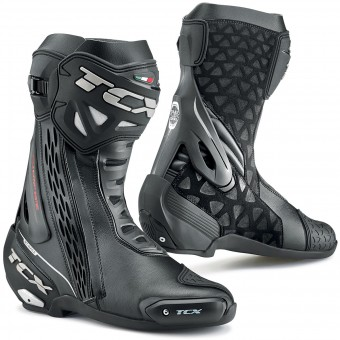 Bottes Moto TCX RT-Race Waterproof Black