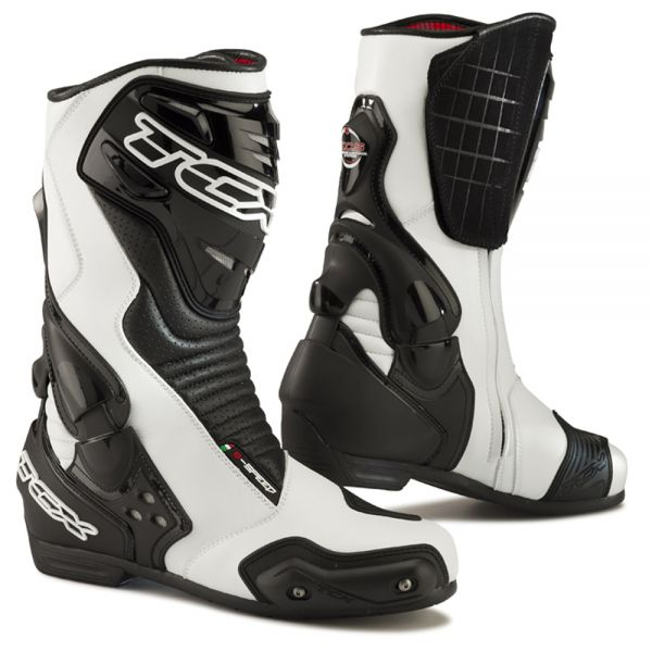 Bottes Moto TCX S-Speed White Black