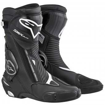 Bottes Moto Alpinestars SMX Plus Gore-Tex Black