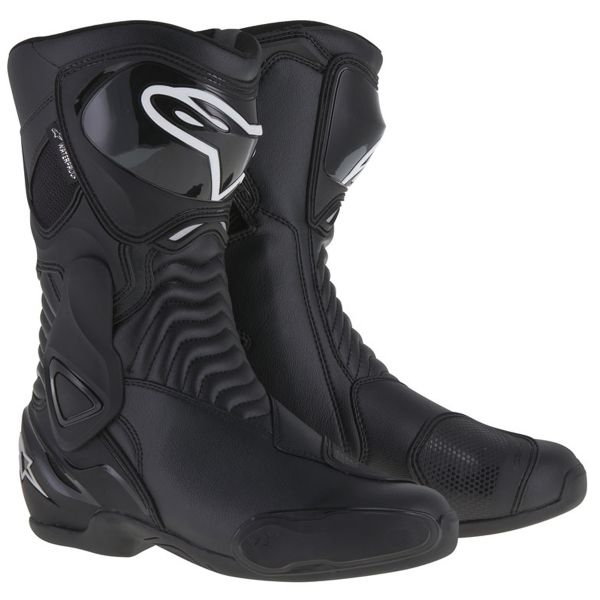 Bottes Moto Alpinestars Stella SMX-6 Waterproof Black