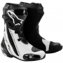 Bottes Moto Alpinestars Supertech R Black White