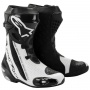 Bottes Moto Alpinestars Supertech R Black White Vented