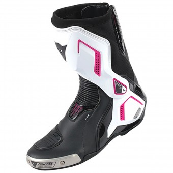 Bottes Moto Dainese Torque D1 Out Lady Black Fuschia