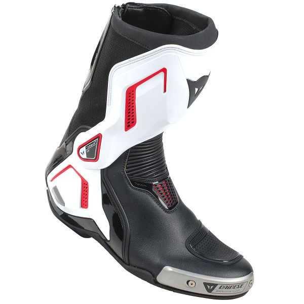 Bottes Moto Dainese Torque Out D1 Black White Red