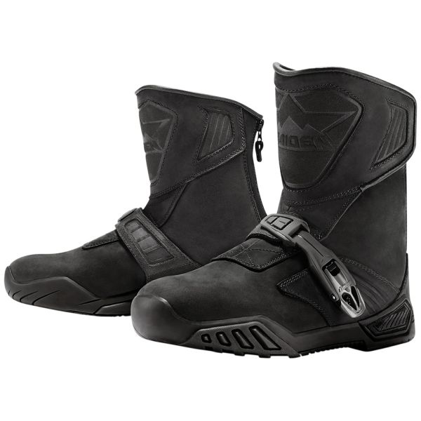 Bottes Moto ICON Treadwell Waterproof Stealth